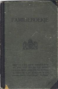1921-06-23 Familieboekje Klaasen